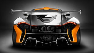 Illustration for article titled The McLaren P1 GTR Is A 986 Horsepower Lesson In Insanity