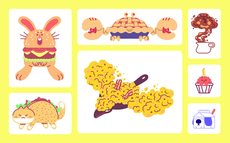 These food based pok mon concepts are simply delectable for Pokemon cuisine
