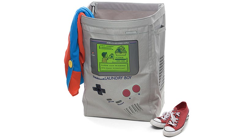 Illustration for article titled A Game Boy Laundry Bag Is a Great Reason To Pick Up Your Clothes