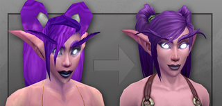 Illustration for article titled A Look At World Of Warcraft's New Night Elf Model