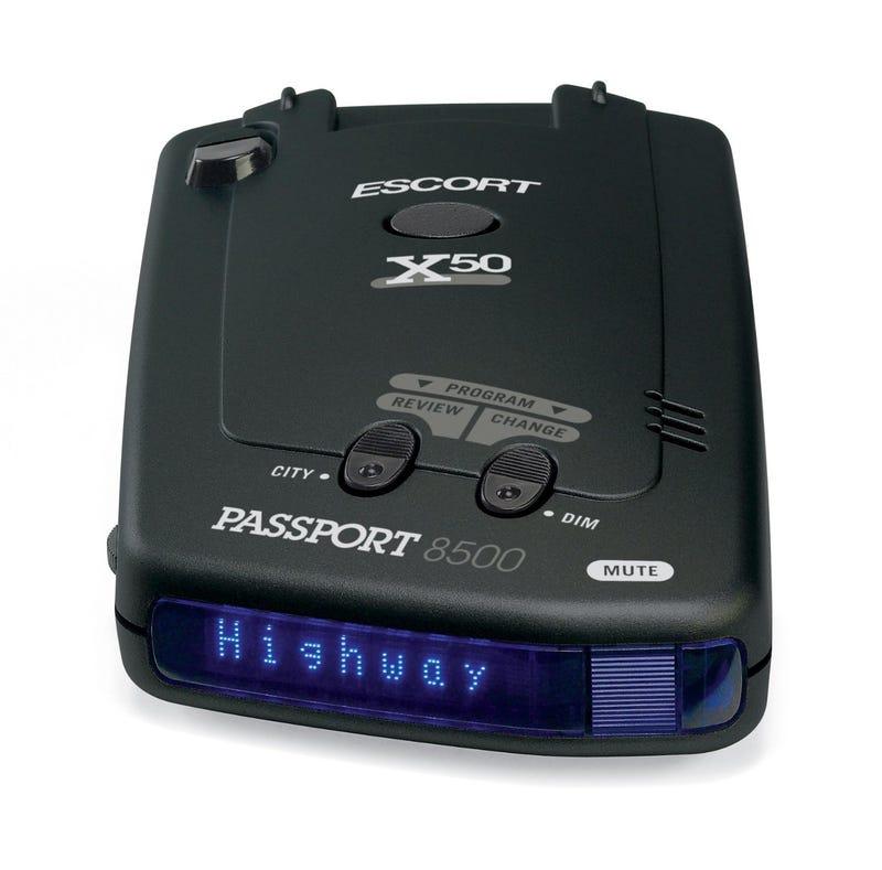 Illustration for article titled Escort Passport 8500X50 Radar Detector $159.99