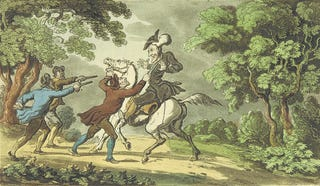 Illustration for article titled In The 18th Century, Wig-Stealing Bandits Roamed England's Countryside
