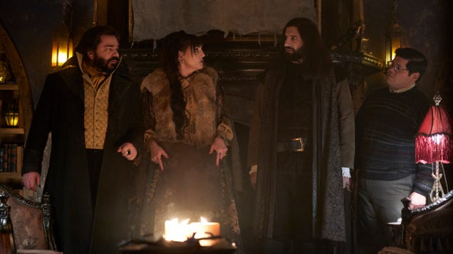 Erotic topiary gives What We Do In The Shadows a comedic boost