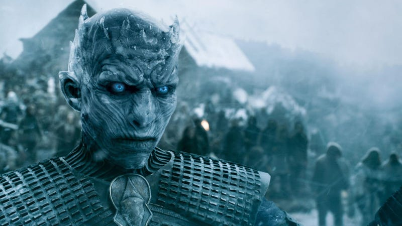 The Night King, not a Tethered, probably.
