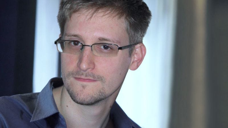 Snowden, who sources say is basically just a guy with a really fun life.