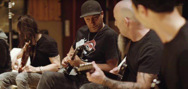 Tom Morello, Scott Ian, and, uh, Brad Paisley got together to shred the Game Of Thrones theme
