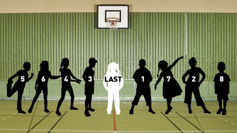 Illustration for article titled Being the Last One Picked in Gym Class Really Messes You Up