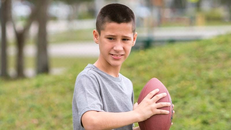 Illustration for article titled 'Fourth Quarter, Time Winding Down, Super Bowl,' Report Nation's 11-Year-Olds