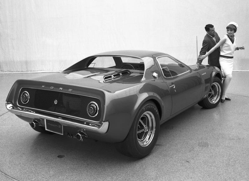 the ford mustang mach 2 was the mid engined pony car no one asked for