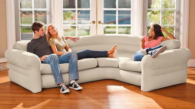 Intex Inflatable Corner Sofa | $50 | Amazon