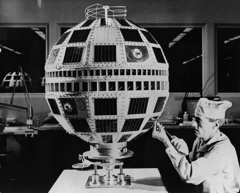 Illustration for article titled The Experimental Satellite that Gave Us Live International Television