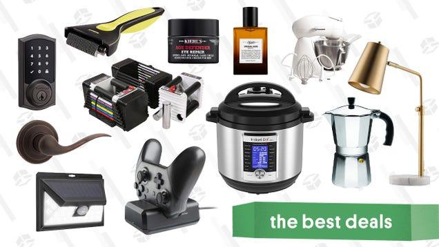 Monday s Best Deals: Instant Pot, Lamps, Smart Locks, Kiehl s, and More