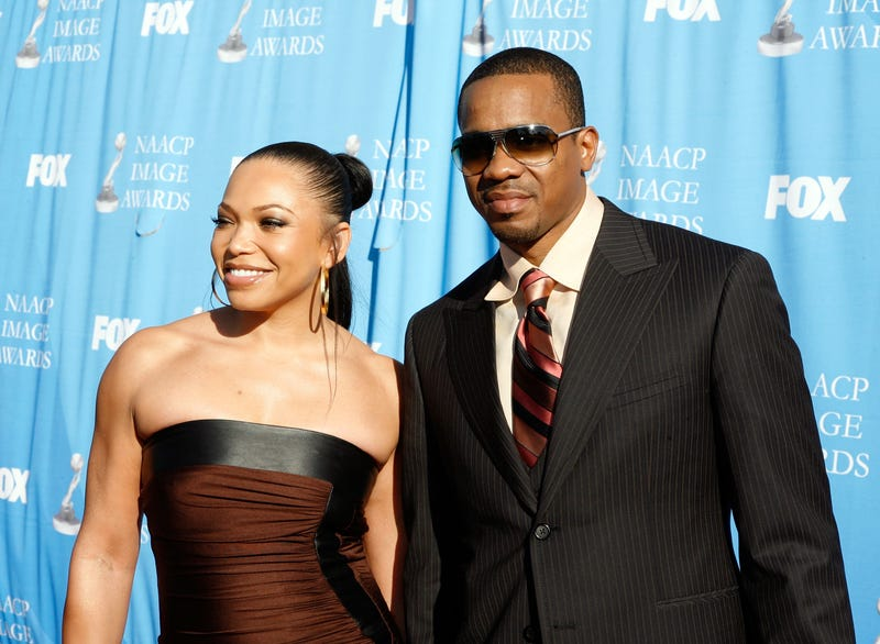 Tisha Campbell-Martin and Duane Martin in Los Angeles in March 2007 (Kevin Winter/Getty Images for NAACP)