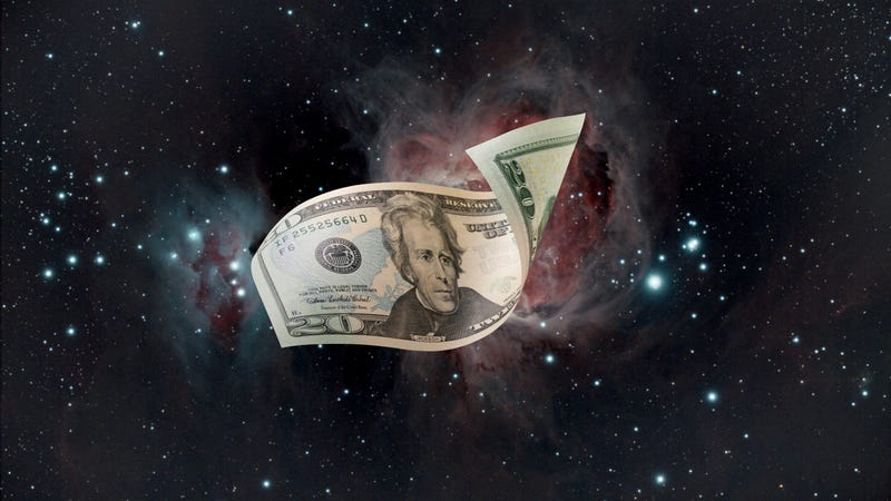 Illustration for article titled Science FTW! The Hubble Space Telescope Found A $20 Bill