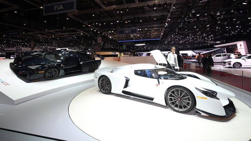 The SCG003 at Geneva. Photo Credit: Newspress
