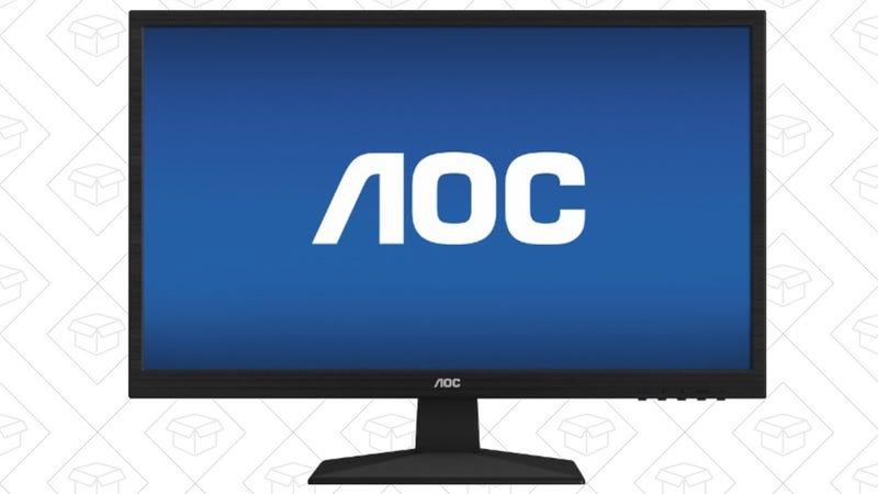 "AOC 24"" 1080p Monitor, $80"