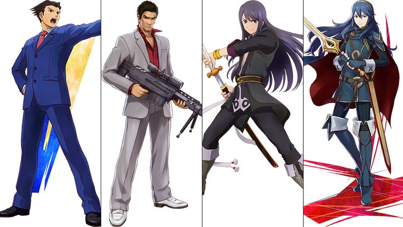 Illustration for article titled The 58 Playable Characters in Project X Zone 2