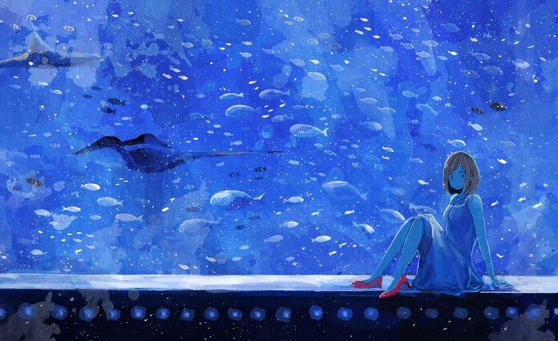Illustration for article titled Blue World