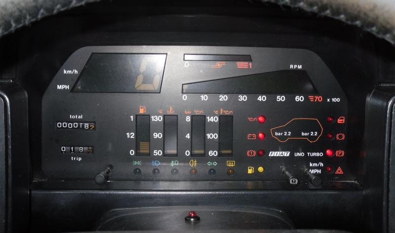 Diese 1980er Fiat Mai haben die besten Idiot Lichter je