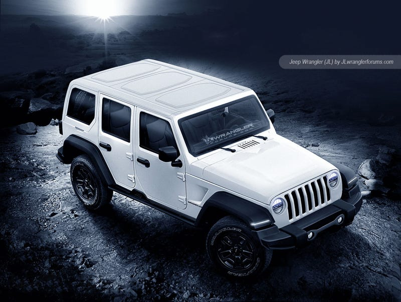 Jeep Wrangler Panoramic Roof >> The Internet S Biggest Jeep Nerds Think This Is What Next Wrangler