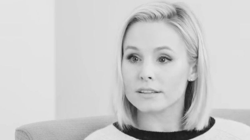 Illustration for article titled Read This: Kristen Bell opens up about her struggle with depression