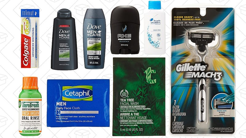 Men's Grooming Sample Box, $10 + $10 men's grooming credit