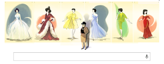 Illustration for article titled Google Doodle: Edith Head
