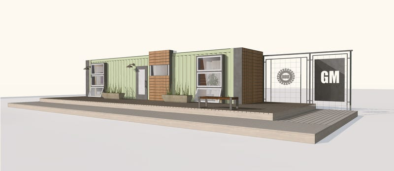 Illustration for article titled General Motors Will Build You A Tidy, Little Shipping-Container House