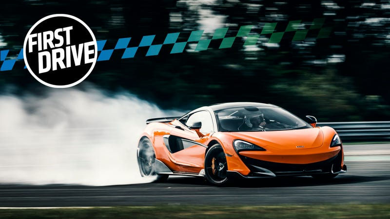 the 2019 mclaren 600lt is the flame-spitting mad max version of the 570s