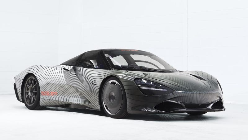 Illustration for article titled Why the McLaren Speedtail Production-Spec Prototype Is Named 'Albert'