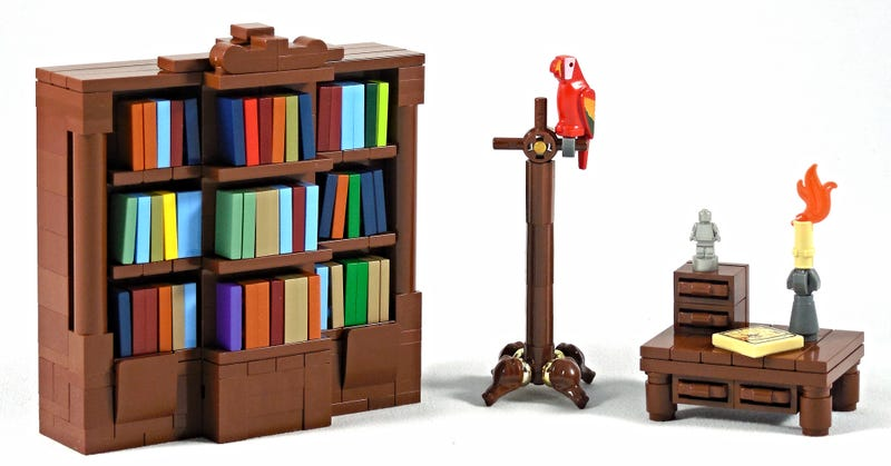 Illustration for article titled Redecorate your Lego house with this fantastic Lego furniture