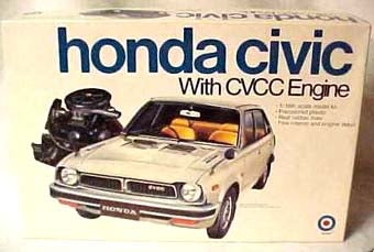 Illustration for article titled 1:16 Scale First-Gen Honda Civic Model Kit: Another One Gets Away