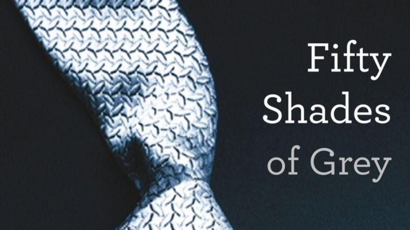 Illustration for article titled Fifty Shades Of Greynow also ruining classic literature