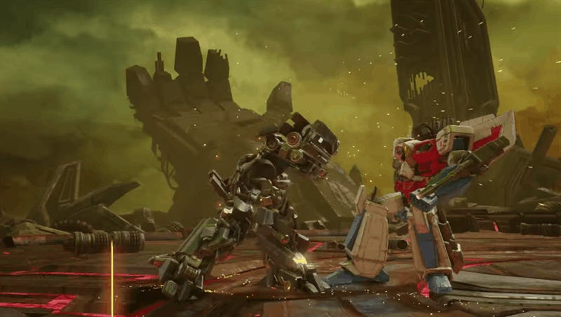 Transformers: Forged To Fight Takes Kabam's Fighting Game To The