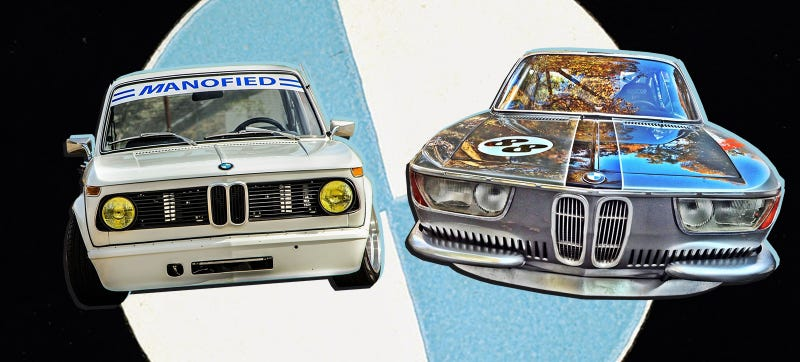 Illustration for article titled There Is No Wrong Answer In This Vintage BMW Racecar Faceoff