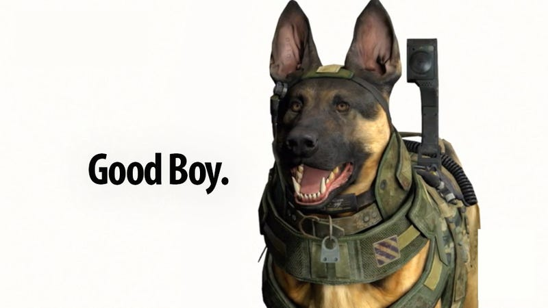 Illustration for article titled Thanks, Call of Duty Dog, For Brightening Up A Mostly Dull Xbox Event