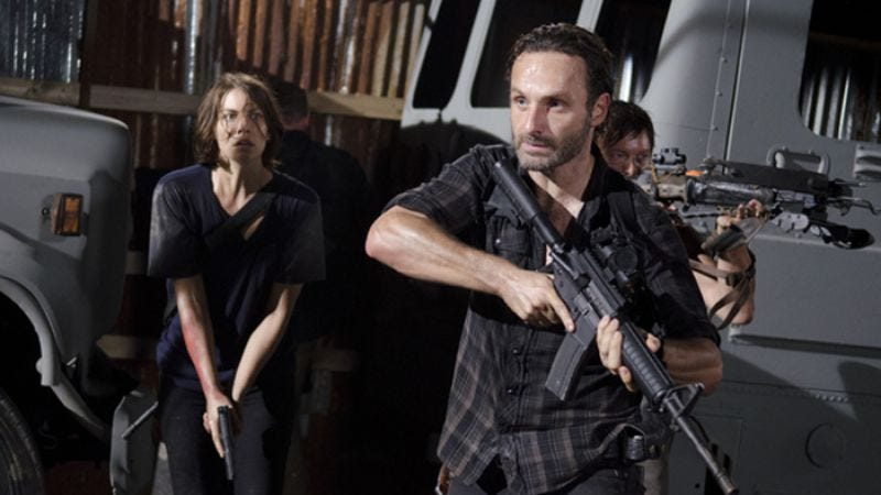 Illustration for article titled The Walking Dead scores its most record-breaking ratings since the last time it scored record-breaking ratings