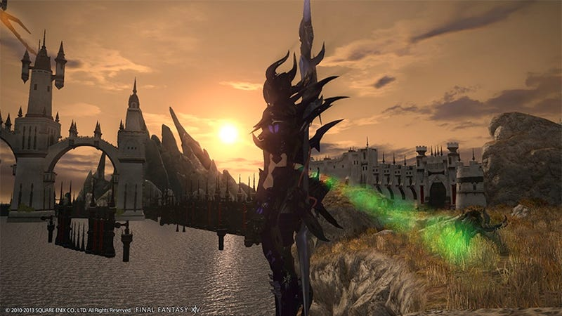 Illustration for article titled Final Fantasy XIV Isn't Coming To Xbox Because Of A Silly Policy