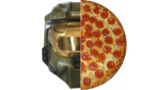 Illustration for article titled Halo Pizza is Here, Fortunately Restricted to the U.K.