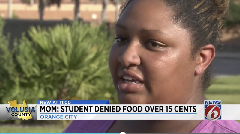 Illustration for article titled Florida High School Student Denied Lunch Because She Was 15 Cents Short
