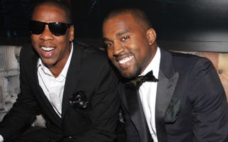 Jay-Z and Kanye West (Getty Images)