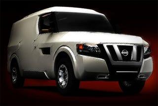 Illustration for article titled Nissan NV2500 Concept Set For Fuzzy Detroit Debut
