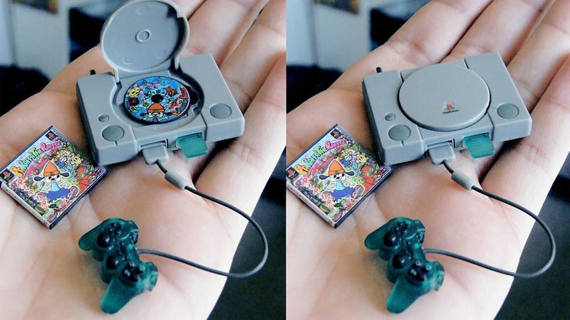 Illustration for article titled The Tiniest Little PlayStation You Ever Did See