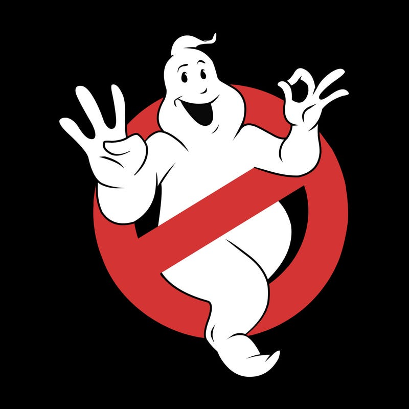 You've Never Seen The Ghostbusters Logo Like This