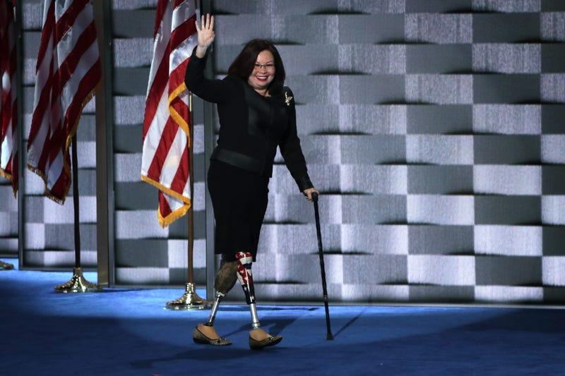Watch War Hero Sen Tammy Duckworth Calls Trump Draft