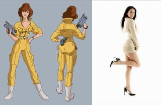 Illustration for article titled Megan Fox is your new April O'Neil