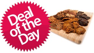 Illustration for article titled KRAVE Gourmet Jerky 5-Pack Is Your MMMMMM-MEAT Deal of the Day