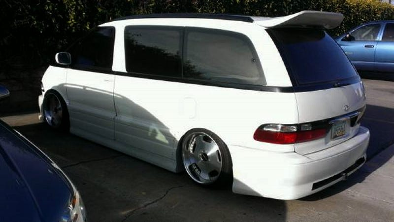 Could This Dropped Toyota Previa S C Go For 7 000