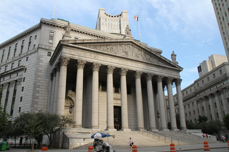 Image: Creative Commons (different New York courthouse)