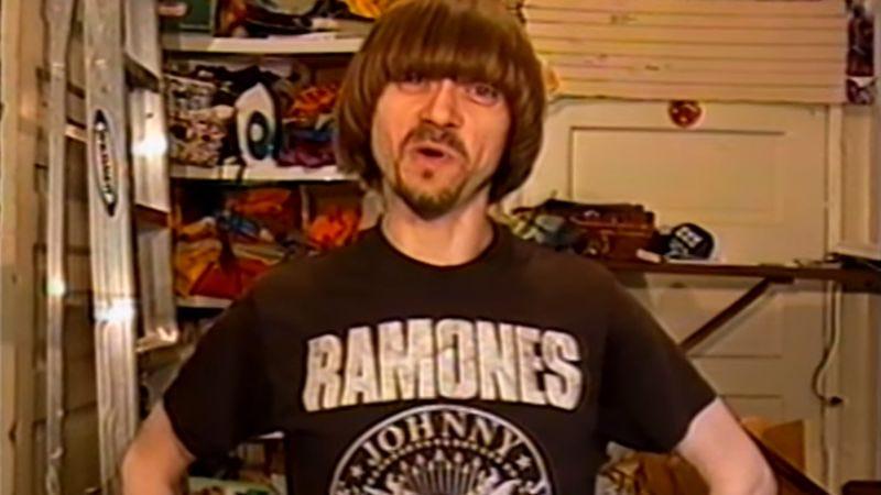 "Screen shot: ""Band T-Shirts 80s 90s"" (YouTube)"